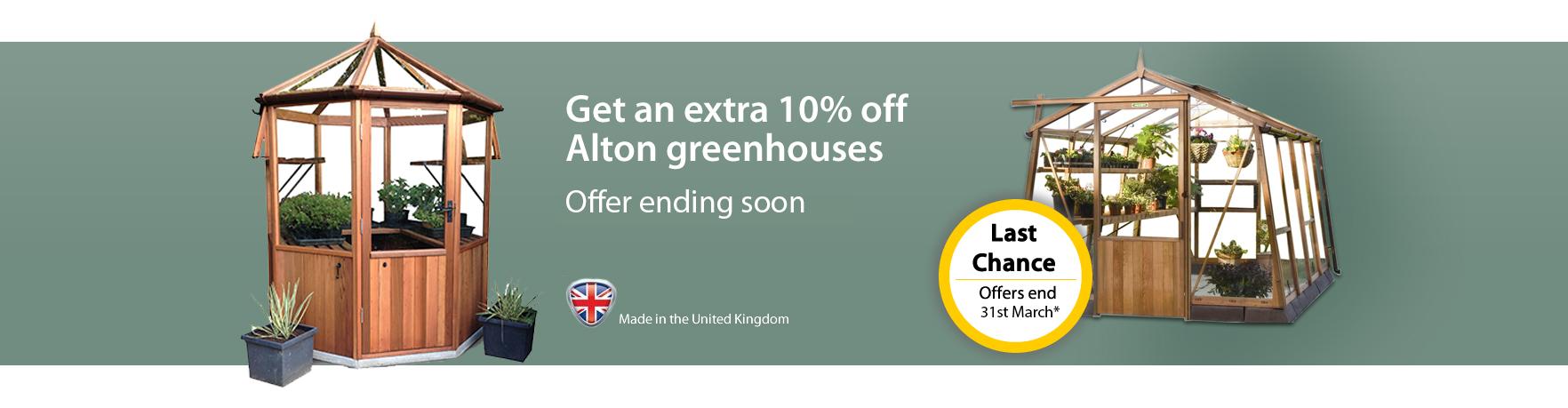 Alton 10% off