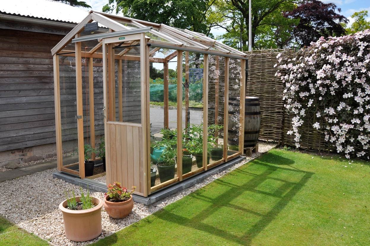 Wooden Greenhouses for Sale - Alton Greenhouses