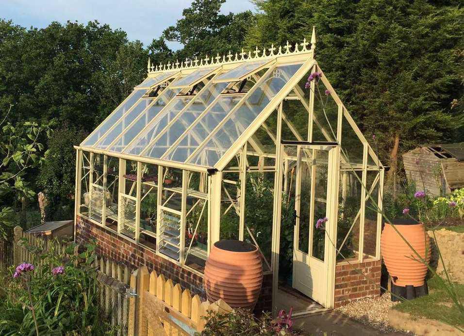 Amazing Aluminium Greenhouses For Sale Robinsons Greenhouses Interior Design Ideas Gresisoteloinfo