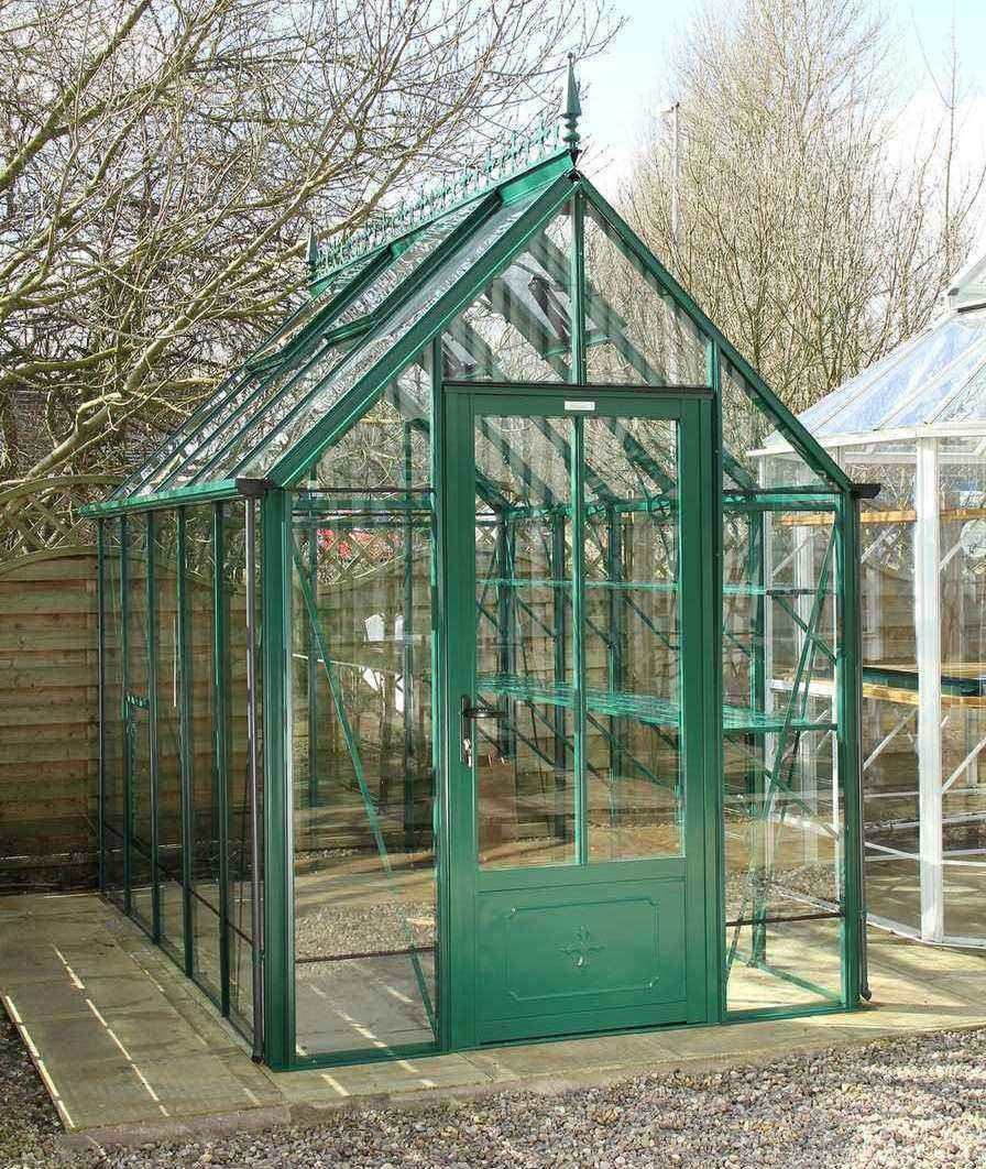Aluminium greenhouses for sale robinsons greenhouses for Greenhouse styles