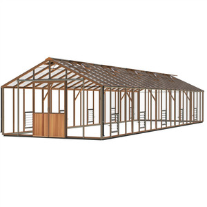 Alton Evolution Twelve 12 x 40 Cedar Greenhouse