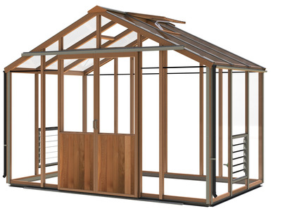 Alton Evolution Ten 10 x 6 Cedar Greenhouse