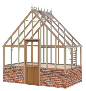 Alton Oakham victorian 10x6 greenhouse