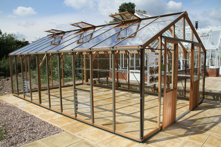 Alton Evolution Ten 12 x 20 Cedar Greenhouse