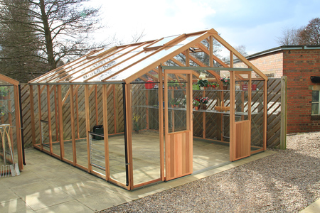 Alton Evolution Twelve 12 x 14 Cedar Greenhouse