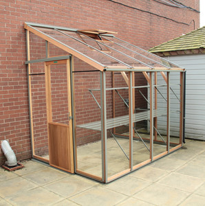 Alton Evolution Six-LT Cedar Greenhouse