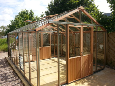 Alton Evolution Twelve 12 x 18 Cedar Greenhouse