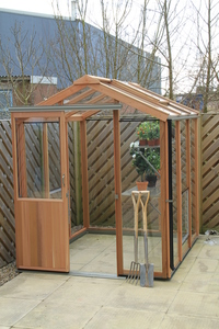 Alton Evolution 5x6 Cedar Greenhouse