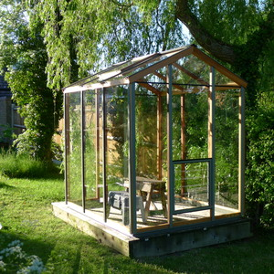 Evolution 5x6 greenhouse
