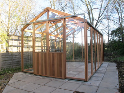 Alton Evolution 8x12 Cedar Wooden Greenhouse