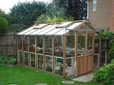 Alton Evolution Eight 8x12 Cedar Greenhouse