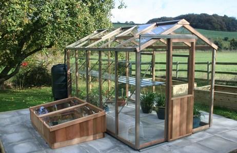 Alton Evolution Six 6x10 Cedar Greenhouse