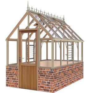 Alton Eton Victorian 6 x10 Cedar Greenhouse