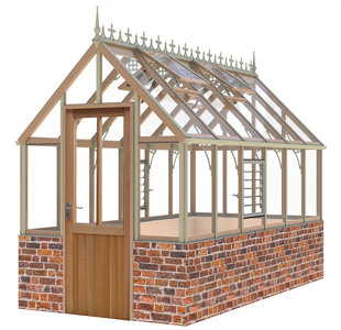 Alton Eton 6x12 Cedar Greenhouse