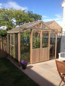 Alton Evolution Eight 8x6 Cedar Greenhouse