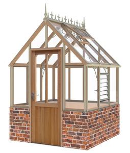 Alton Eton Victorian 6 x6 Cedar Greenhouse