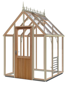 Alton Smallwood (Glass to ground) 6x6 Greenhouse