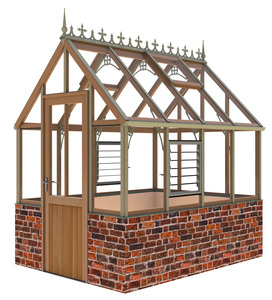 Alton Eton 6x8 Cedar Greenhouse