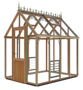 Alton Smallwood (Glass to ground)Greenhouse 6x8
