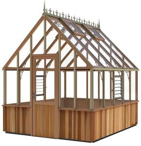 Alton Cheltenham Victorian 8x10 cedar Greenhouse