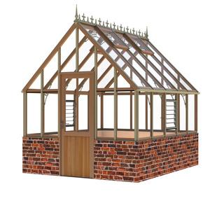 Alton Ellesmere Victorian 8x10 Cedar Greenhouse