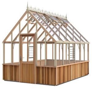 Alton Cheltenham Victorian 8x12 cedar Greenhouse