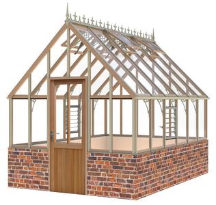 Alton Ellesmere Victorian 8x12 Cedar Greenhouse