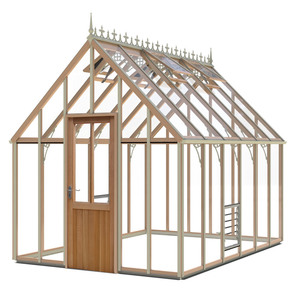 Alton Harrow Victorian 8x12 Cedar Greenhouse
