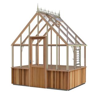 Alton Cheltenham Victorian Cedar Greenhouse 8x6