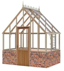 Alton Ellesmere Victorian 8x6 Cedar Greenhouse