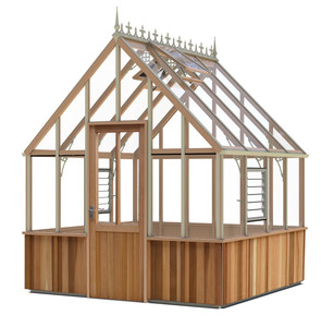 Alton Cheltenham Victorian 8x8 cedar Greenhouse