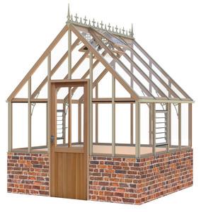 Alton Ellesmere Victorian 8x8 Cedar Greenhouse