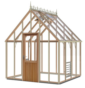 Alton Harrow Victorian 8x8 Cedar Greenhouse