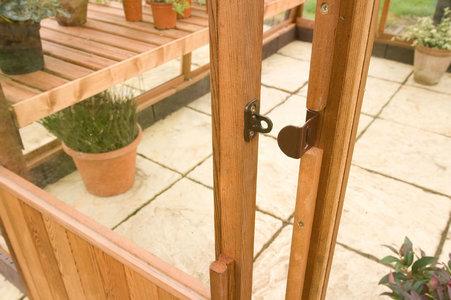 Amateur panelled door