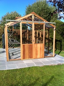 Alton Evolution Eight 8x10 Cedar Greenhouse