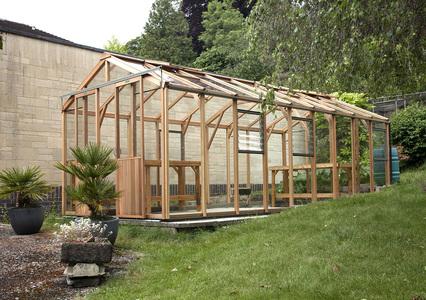 Evolution 8ft wide greenhouse