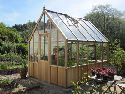Alton Cheltenham Victorian cedar Greenhouse