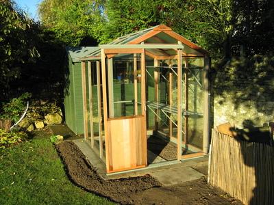 A 56 Evolution greenhouse