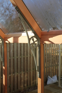 Cast Aluminium Victorian spandrels