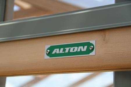Alton Eton Victorian ( dwarf wall)Cedar Greenhouse