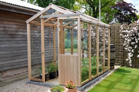 Alton Evolution 5x8 Cedar Greenhouse