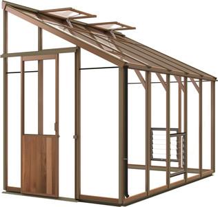 Alton Evolution Six-LT 6x10 Cedar Greenhouse
