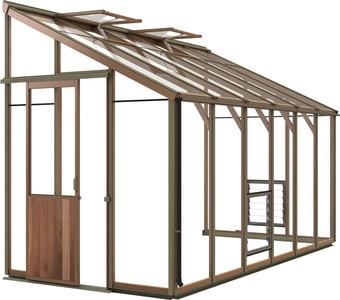 Alton Evolution Six-LT 6x12 Cedar Greenhouse