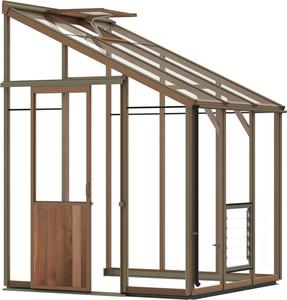 Alton Evolution Six-LT 6x6 Cedar Greenhouse