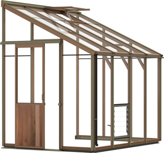 Alton Evolution Six-LT 6x8 Cedar Greenhouse