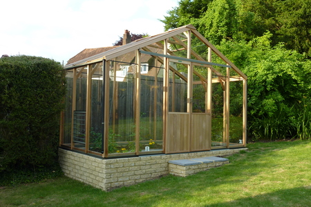 Alton Evolution Ten 12 x 6 Cedar Greenhouse