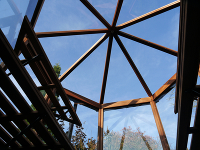 Alton Octagonal Roof Cedar Greenhouse