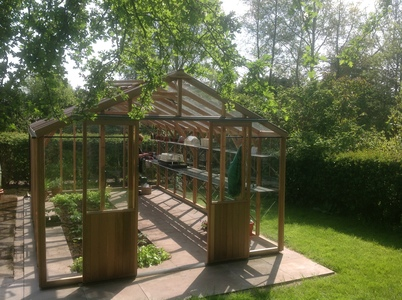 Alton Evolution Ten 10 x 18 Cedar Greenhouse
