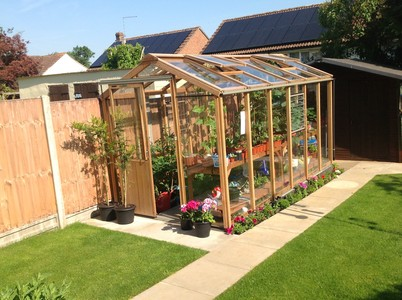 Alton Evolution Six 6x12 Cedar Greenhouse