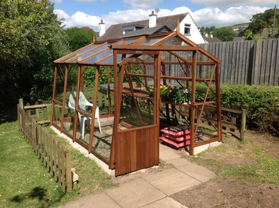 Alton Amateur 8ft x 10ft6 Cedar Greenhouse
